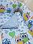 """Набор постельного белья для новорожденных """"Совята"""" от ТМ Бонна, фото 2"""