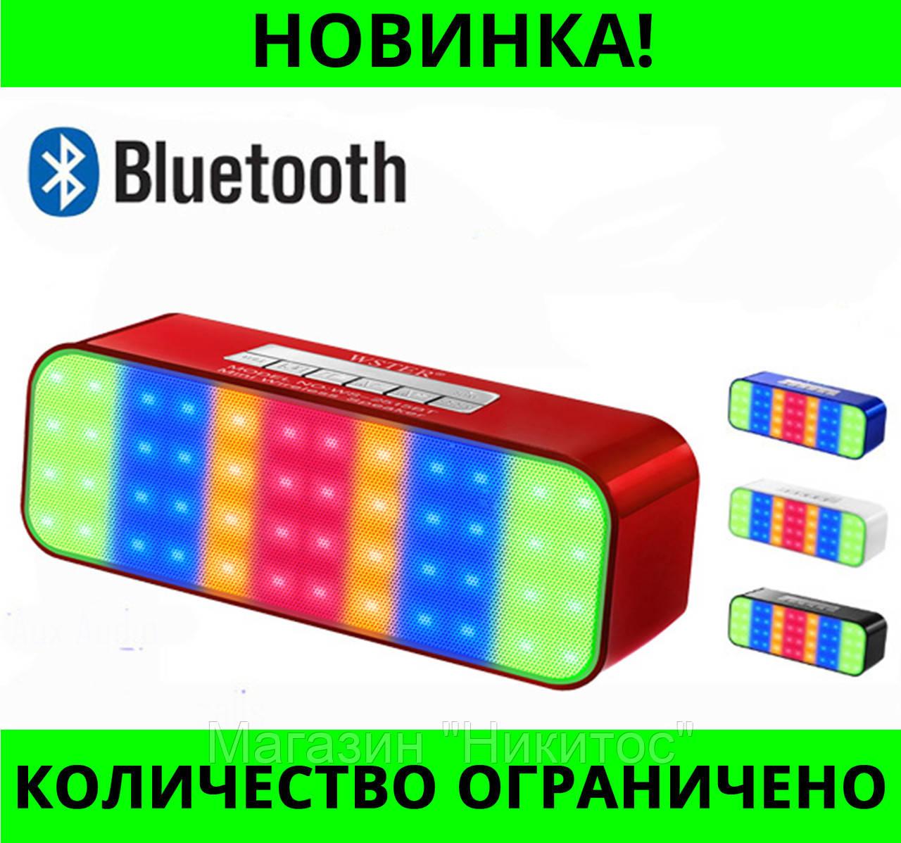 Портативная колонка Bluetooth WS-2515BT!Розница и Опт