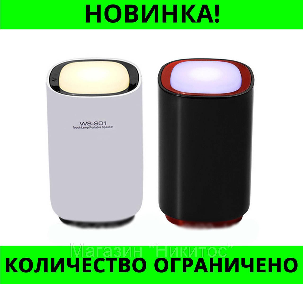 Портативная колонка Bluetooth WS-S01!Розница и Опт