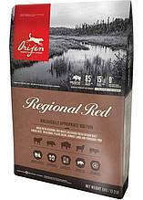 Orijen Regional Red Dog для собак всех пород и возрастов (говядина, кабан, бизон, ягненок) 11.4кг