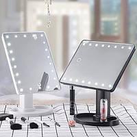 Зеркало с подсветкой для макияжа Large Led Mirror (22 светодиодов)