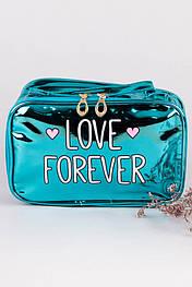 Косметичка LOVE FOREVER (голубая) KOS1214