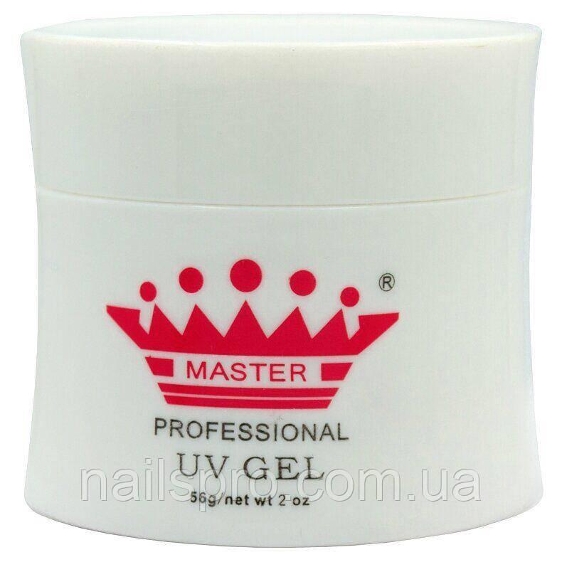 Моделирующий гель для ногтей Master Professional UV Gel White 56 мл