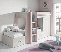 Детская кровать-чердак для двоих ДМ 723
