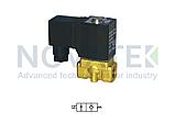 Соленоїдний клапан 2/2 2WX05015 24V DC AirTAC, фото 2