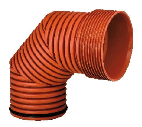 Колено 90°, d 160мм, Инкор (Incor), для канализации