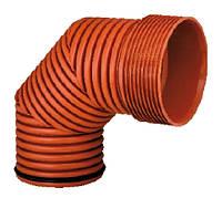Колено 90°, d 160мм, Инкор (Incor), для канализации, фото 1