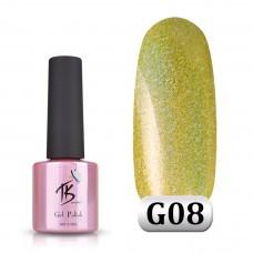 Гель-лак TK Vip-product G-08 (Golografik), 8 мл