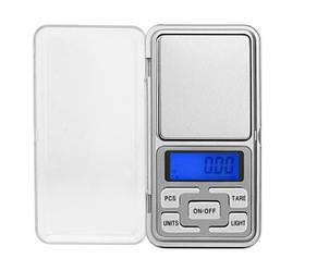 Ювелирные электронные весы книжка Pocket scale MH-200 (от 0,01 до 200 г) | высокоточные карманные весы