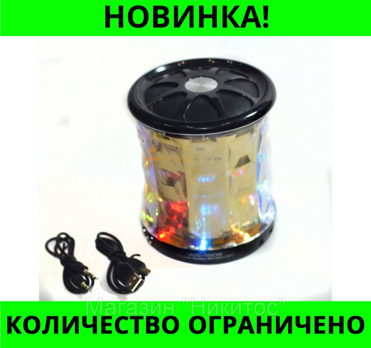 Портативная колонка Bluetooth WSTER WS-1606 USB, micro SD, FM!Розница и Опт