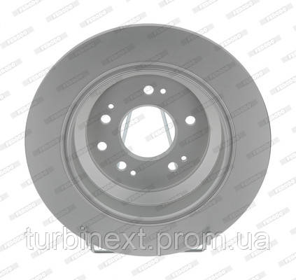 Тормозной диск задний HONDA ACCORD 2.4 16V, 2.2 DTEC 2011- FERODO DDF1778C
