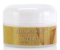 Моделирующий гель для ногтей All Season Nail UV Gel White 32 мл