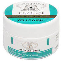 Моделирующий гель для ногтей Global Fashion UV Gel Yellowish 15 мл