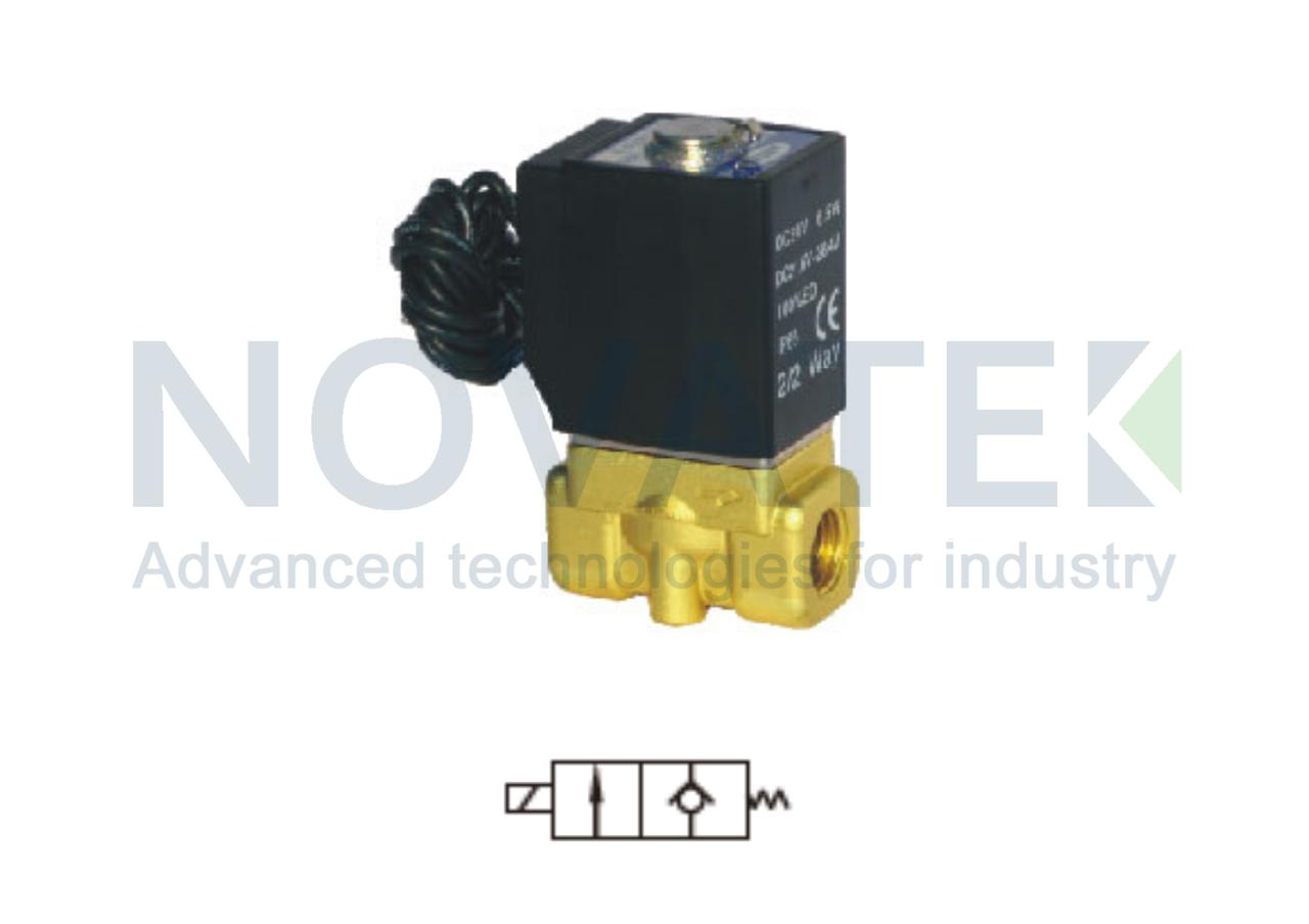 Соленоидный клапан 2/2 2W05015 24V DC AirTAC