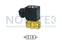 Соленоидный клапан 2/2 2WL05010 24V DC AirTAC, фото 1
