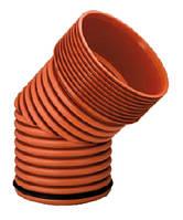 Колено 45°, d 300мм, Инкор (Incor), для канализации, фото 1
