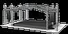Мобильная сцена конструкцией суперлифт 6*8 м