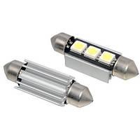 LED C5W C10W CANBUS 31мм лампа с обманкой, 10 SMD