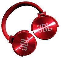 Наушники беспроводные Bluetooth MDR 950 microSD, красные, фото 1