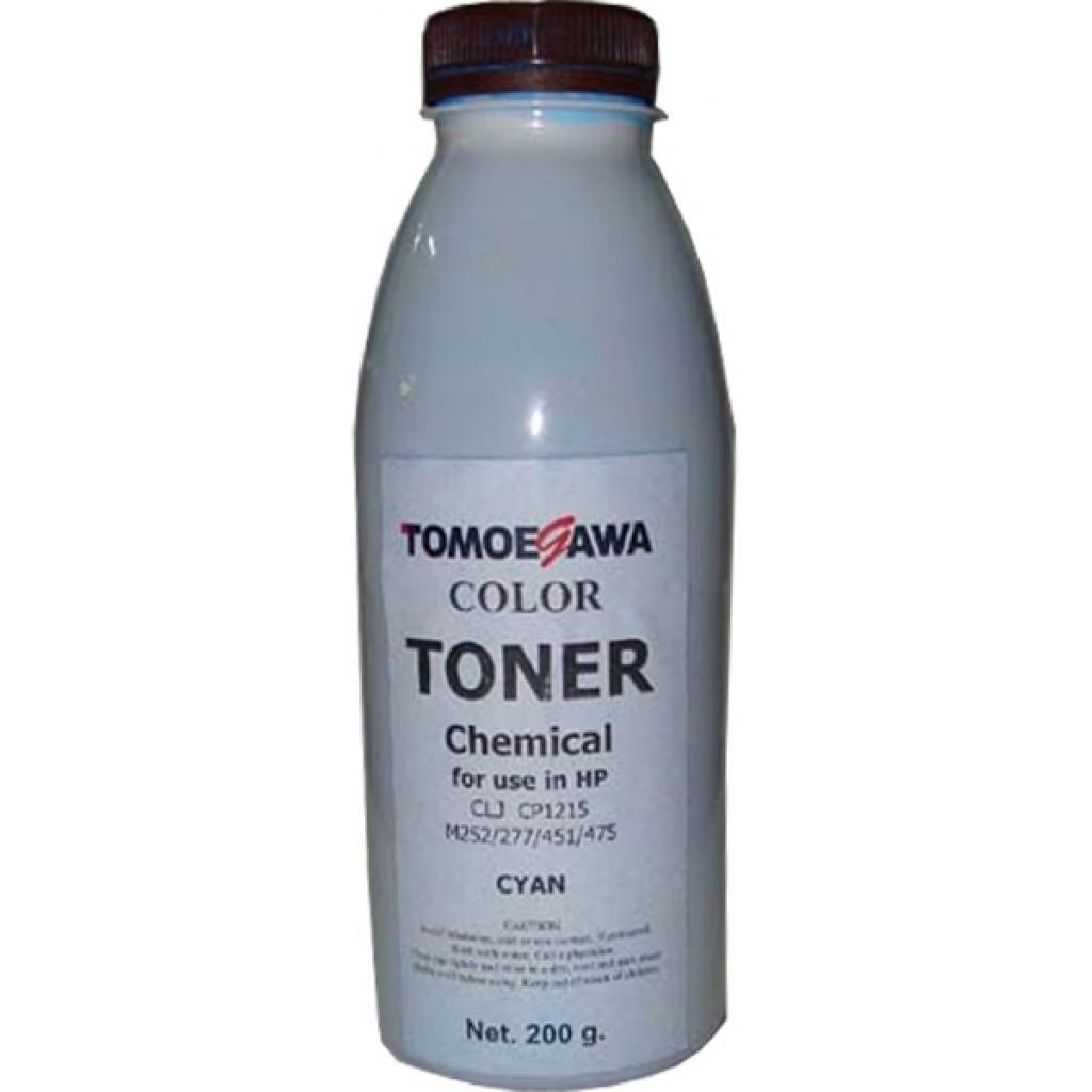 Тонер HP CLJ CP1215/M252/277/451/475 Chemical (200г) Cyan Tomoegawa (THP1215C200)