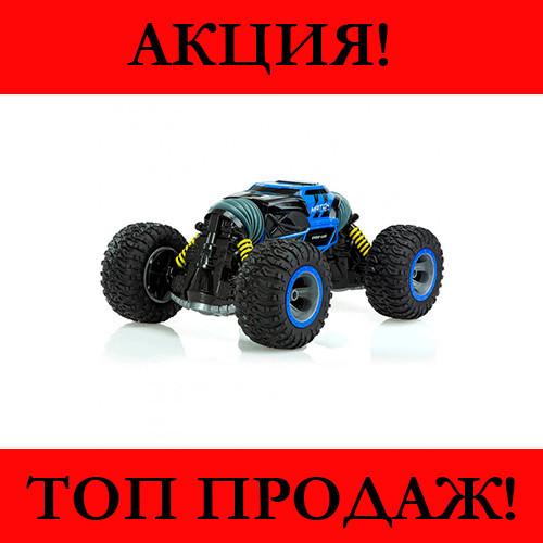 Машинка-перевертыш Leopard - вездеход (Синяя)!Хит цена