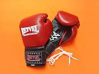 REYVEL Перчатки боксерские ПРО с застежкой 10 oz