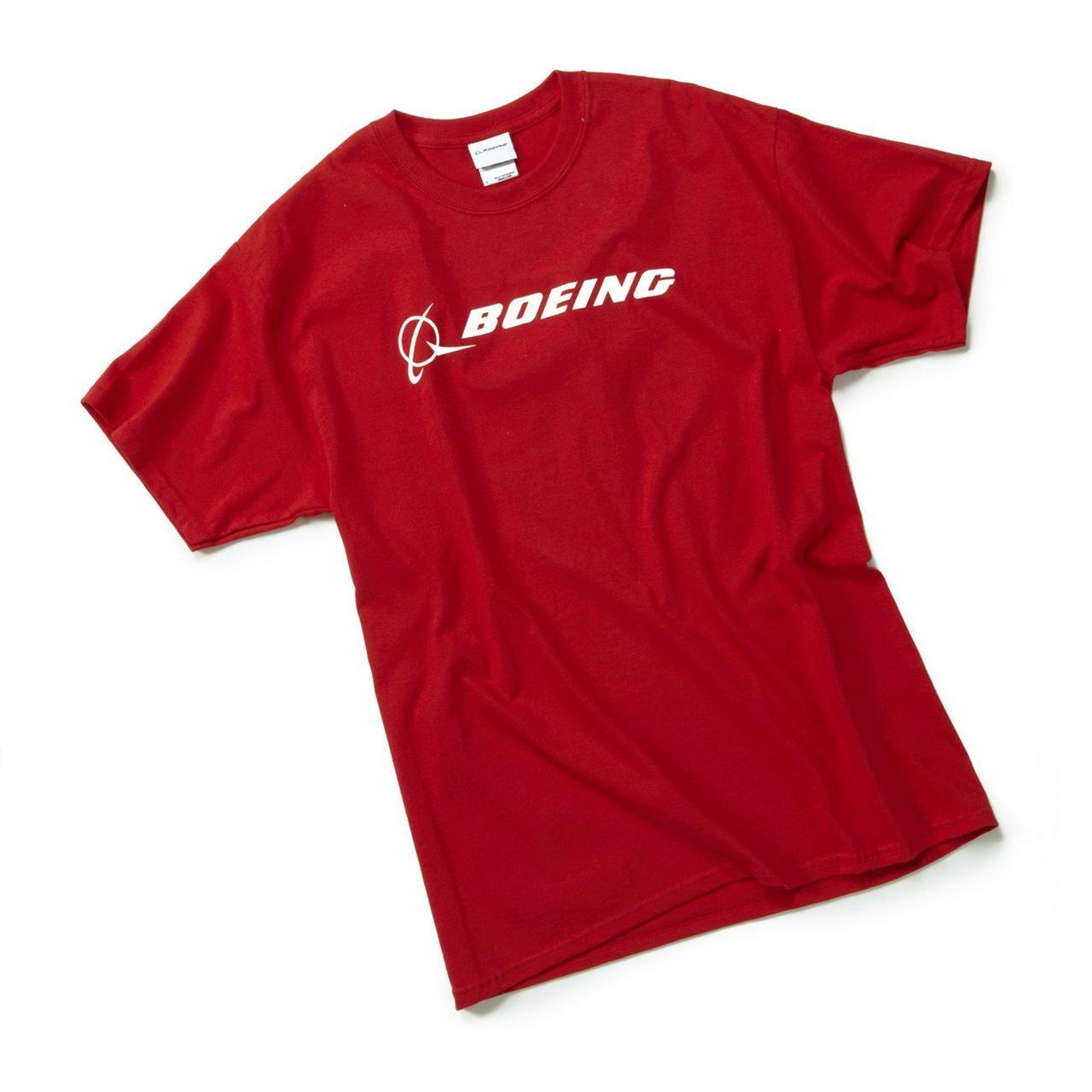 Футболка Boeing™ Signature T-Shirt Short Sleeve, цвет: red