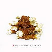 Лакомство для собак - косточка с мясной намоткой из утиного мяса