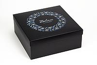 """Коробка """"ГифтБокс"""" М0069-о1, black&blue, фото 1"""