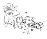 Механизм подачи топлива Pancerpol PPS Trio 100 кВт (Ретортная горелка на пеллете, угле и угольной мелочи), фото 7