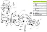 Механизм подачи топлива Pancerpol PPS Trio 100 кВт (Ретортная горелка на пеллете, угле и угольной мелочи), фото 9