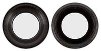Стекло Камеры для Apple iPhone 6S с кольцом (Черное)
