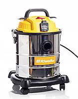 Пылесос промышленный строительный Riwall Pro бак 20 литров гарантия