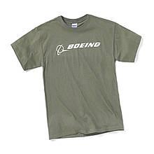 Футболка Boeing™ Signature T-Shirt Short Sleeve, цвет: military green