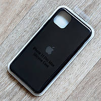 Силиконовый чехол Silicone Case для Apple iPhone 11 Pro Max (Black) (copy)