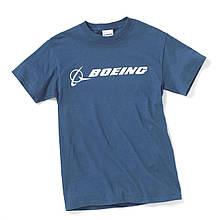 Футболка Boeing™ Signature T-Shirt Short Sleeve, цвет: blue dusk