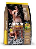 Сухой корм T28 Nutram Total Grain-Free для взрослых собак и щенков малых пород, 6.8 кг