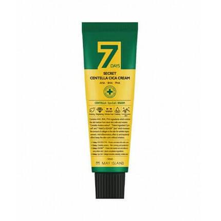Восстанавливающий крем для проблемной кожи May Island 7 Days Secret Centella Cica Cream AHA/BHA/PHA, 50 мл, фото 2
