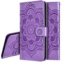 Чехол Lotus для Samsung Galaxy Note 10 Plus / N975F книжка кожа PU сиреневый