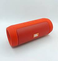 Портативная колонка JBL Charge mini (J006) (Bluetooth, FM, USB, Soft touch) Red
