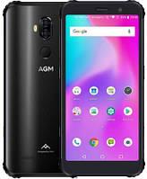 "Смартфон AGM X3 8/64Gb Black, 12+24/20Мп, Snapdragon 845, 8 ядер, 2sim, 5.99"" IPS, 4100mAh, 4G (LTE)"