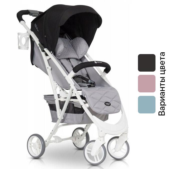 Детская прогулочная коляска EURO-CART VOLT PRO коллекции 2018 года (прогулянкова коляска для дітей)