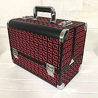 Кейс для косметики Велюр (красный), фото 1