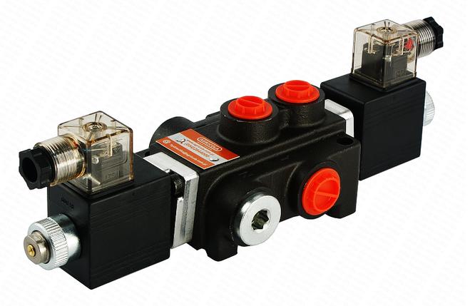 Электромагнитный гидрораспределитель Z80 12/24 В (односекционный), фото 2