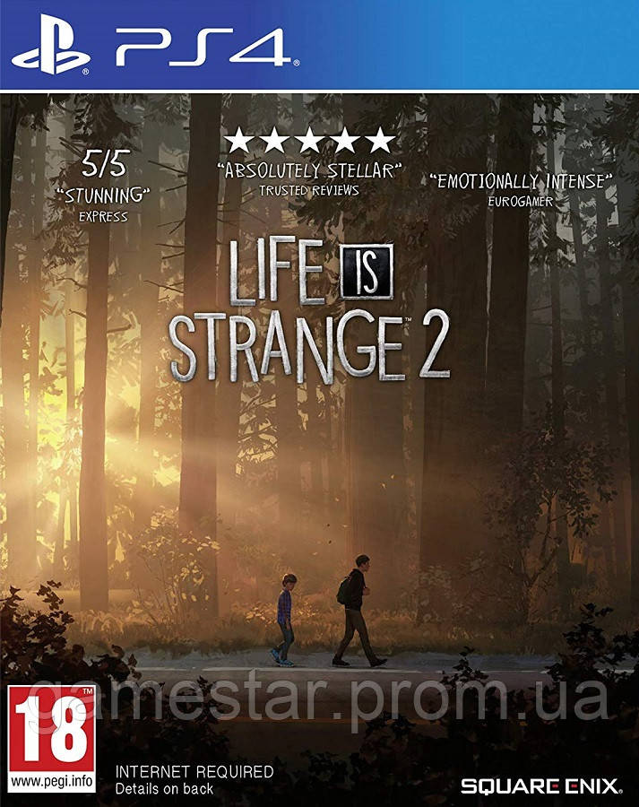 Купить Life is Strange 2 ps4, Square Enix
