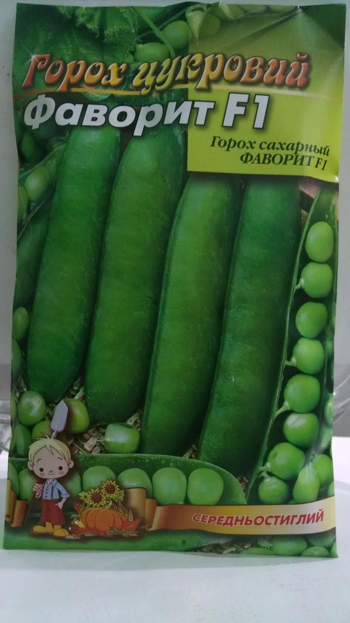 Семена гороха сахарного  Фаворит семена 100 грамм, Украина