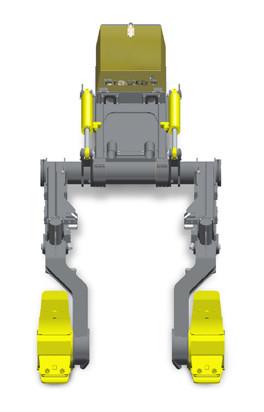 Двухрядный культиватор Bracke M24.a Brackeforest
