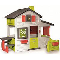 Игровой домик Smoby для друзей c чердаком и дверным звонком (310209), фото 1