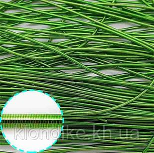 Канитель мягкая, 1 мм, Цвет: Зелёный (5 грамм)