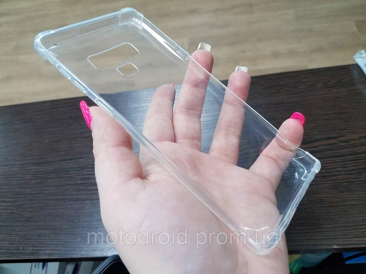 Чохол для Samsung Galaxy Note 9 прозорий силікон